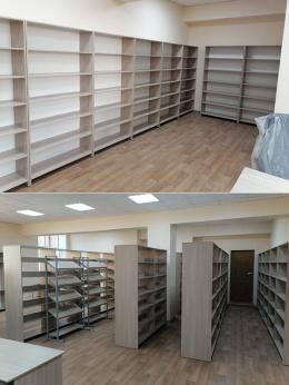 Библиотека посёлок Рябки