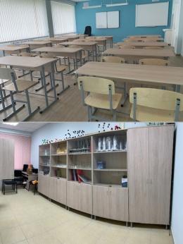 Сылвенская средняя школа (кабинеты точных наук). Работы по программе Транснефть.